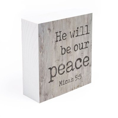 He will be our peace [2]