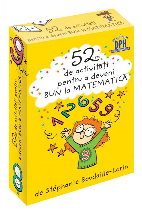 52 jetoane pentru a deveni bun la matematica 0