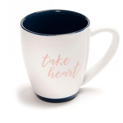 take heart coffee mug [0]