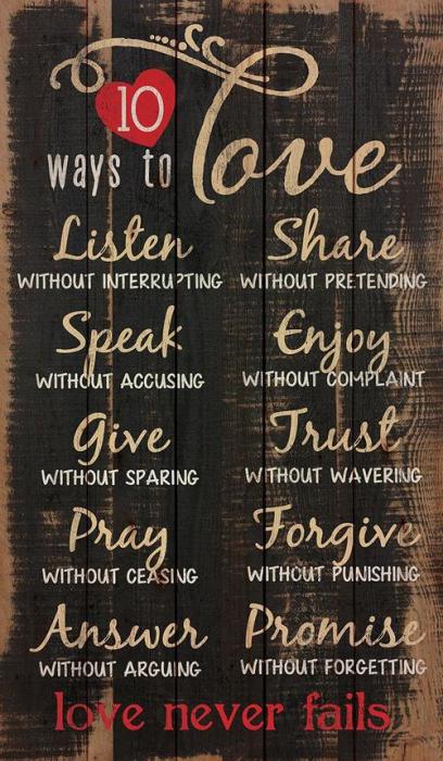 10 ways to love [0]