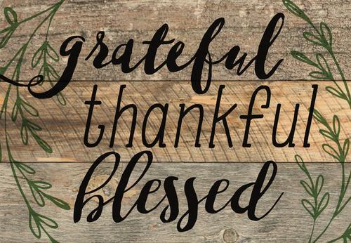 Grateful Thankful Blessed [0]