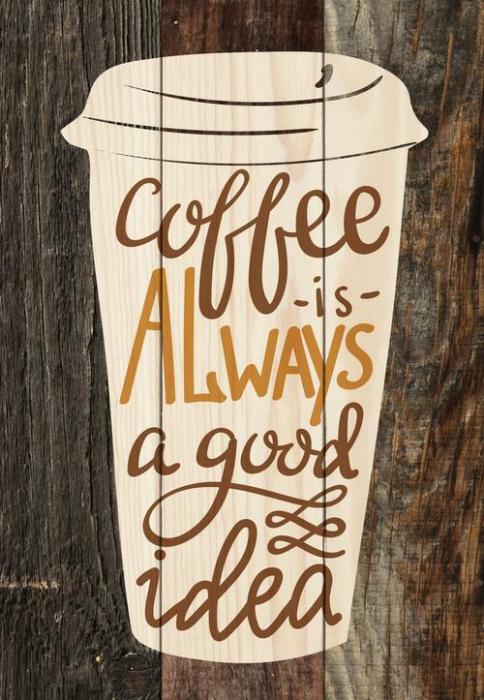 Coffee is always a good idea [0]