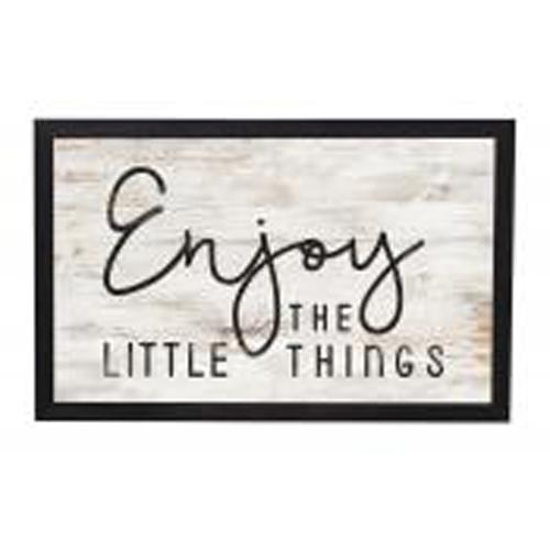 Enjoy the little things [0]