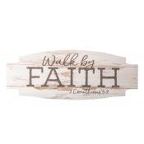 Walk by faith [0]