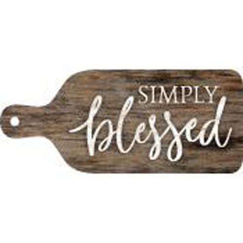 Simply blessed - Bread plate [0]