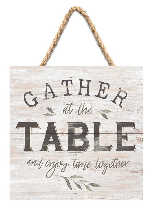 Gather at the table [0]