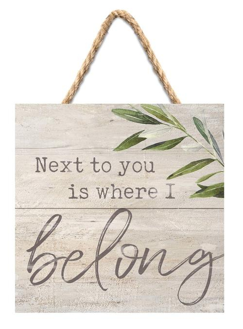 Next to you is where I belong [0]