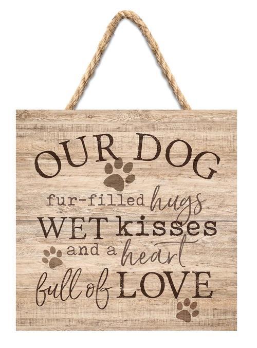 Our dog - Hugs kisses love [0]