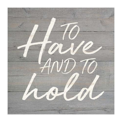 To have and to hold [0]