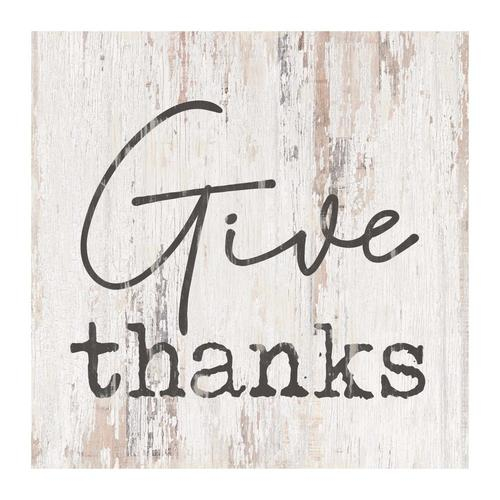 Give thanks [0]