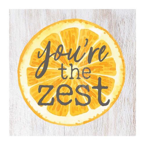 You're the zest [0]