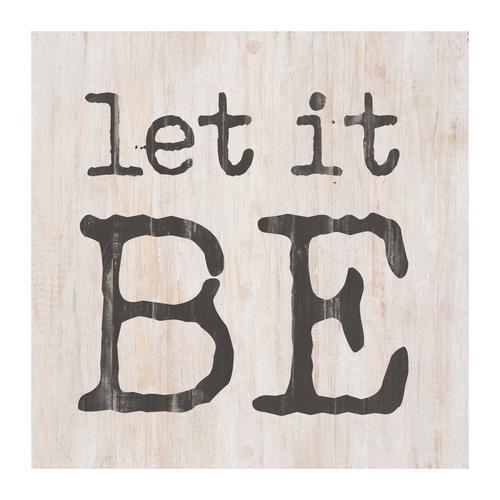Let it be [0]