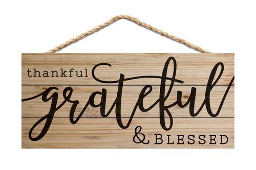 Thankful Grateful & Blessed [0]
