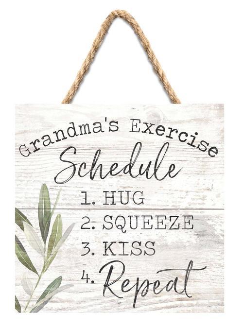 Grandma's Exercise Schedule [0]