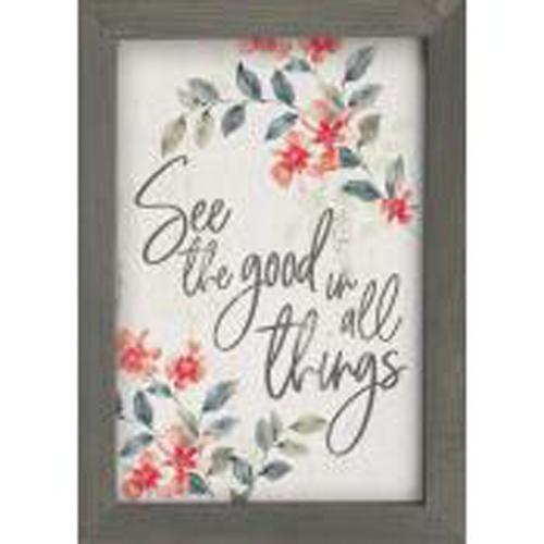 See the good in all things [0]