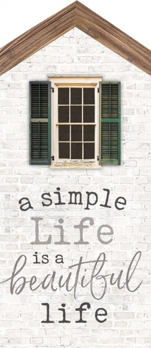 A simple life is a beautiful life [0]