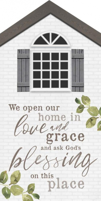 We open our home in love and grace [0]