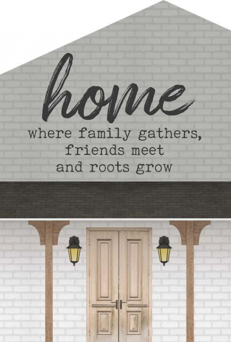 Home: where family gathers [0]