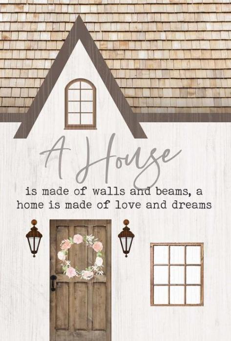 A house - A home [0]