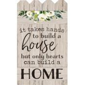 Only hearts can build a home [0]