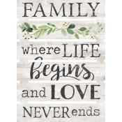 Family: where life begins and love never [0]