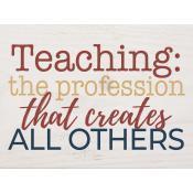 Teaching: the profession that creates [0]