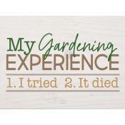 My gardening experience [0]