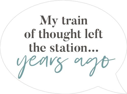 My train of thought - Speech Bubble [0]