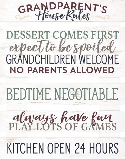 Grandparents house rules - Pallet [0]