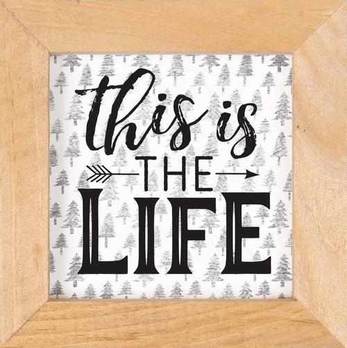 This is the life - Framed [0]