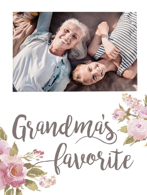 Grandma's favorite - Photo 5 x 7,5 cm [0]