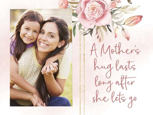 A Mothers hug - Photo 5 x 7,5 cm [0]