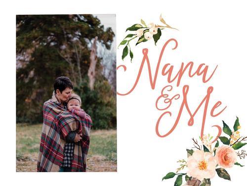 Nana and me - Photo 5 x 7,5 cm [0]
