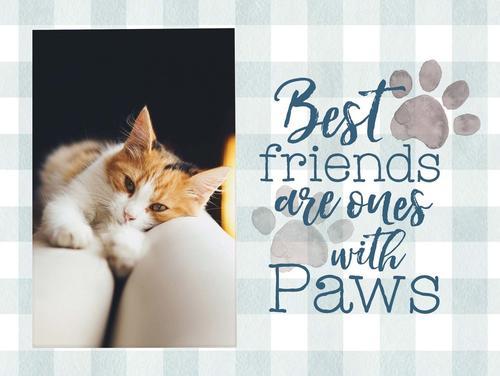Best friends Paws - Photo 5 x 7,5 cm [0]