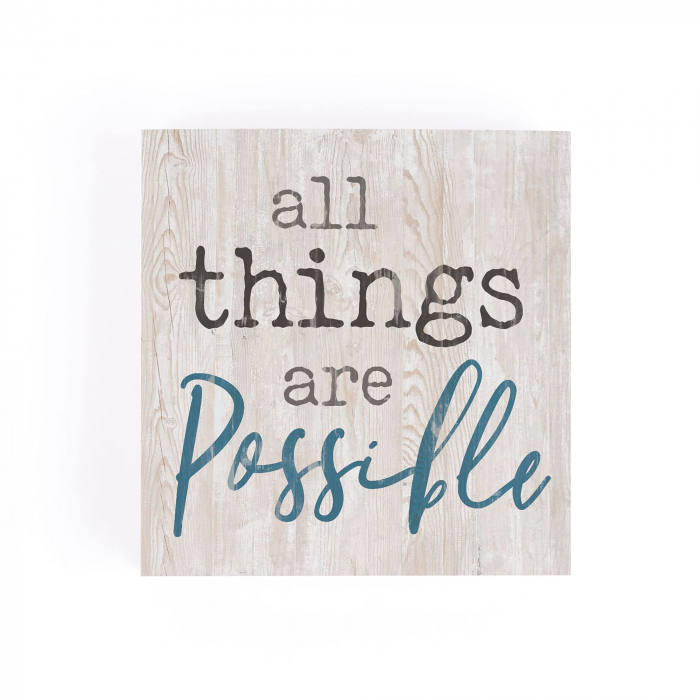 All things are possible [0]