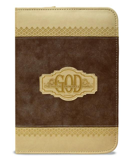 God gives Wisdom - 190 x 140 mm - zipper [0]