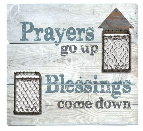 Prayers up Blessings down -Metal accents [0]