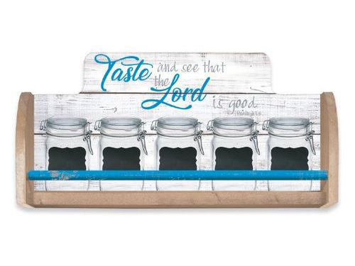 Tast and see that the Lord is good [0]