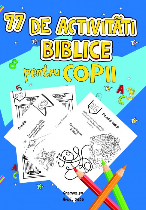 77 de activitati biblice pentru copii 0