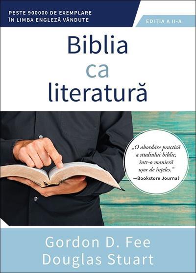 Biblia ca literatura 0