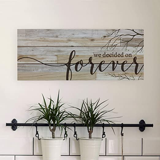 We decided on forever [0]