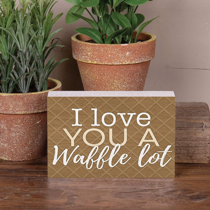 I love you a waffle lot [3]