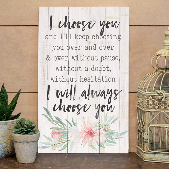 I will always choose you [4]