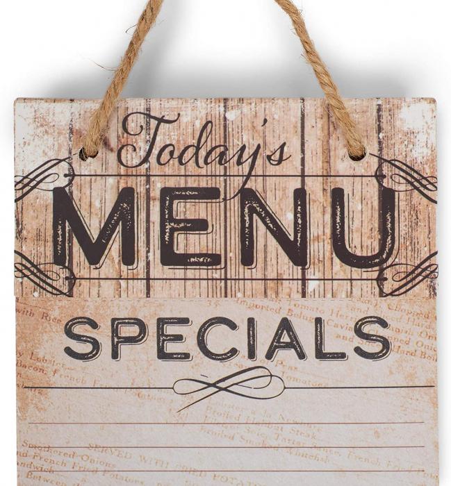 Today´s menu Specials [3]