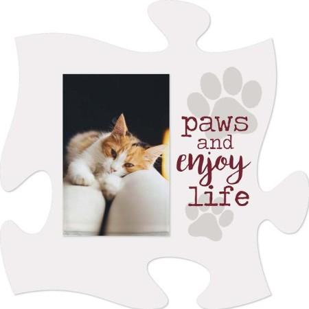 Paws and enjoy life - Photo 5 x 7,5 cm [0]