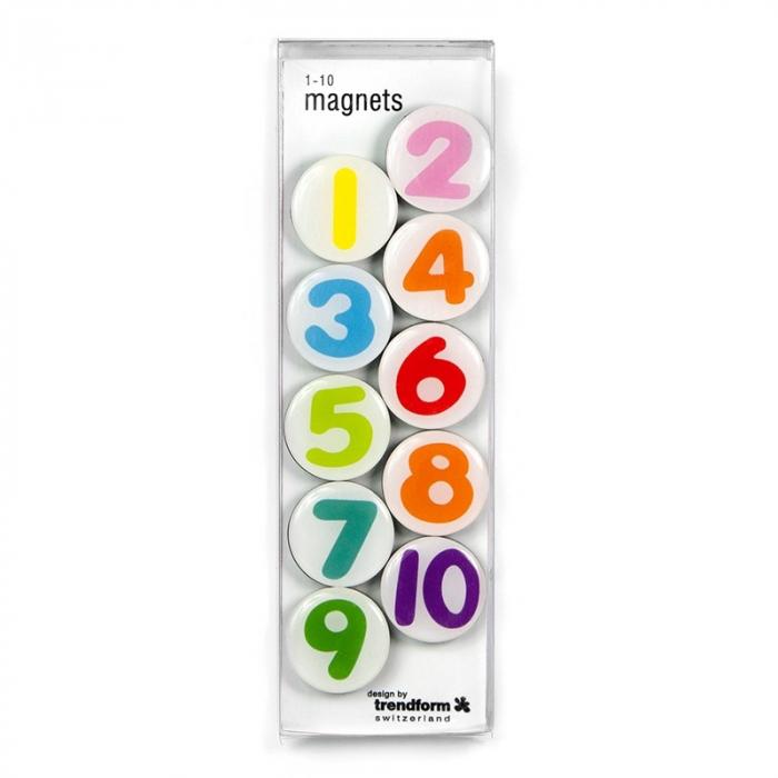 Magnet - 1-10 (10 buc/set) 1