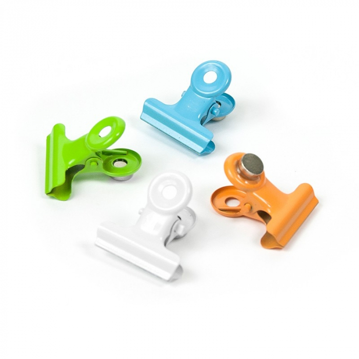 Magnet - clips agrafa color - COLOR GRAFFA (4 buc/set) 0
