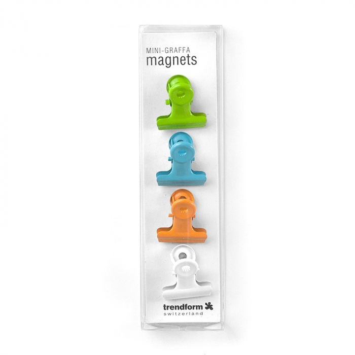 Magnet - clips agrafa color - COLOR GRAFFA (4 buc/set)