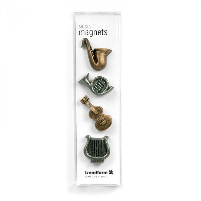 Magnet - instrumente muzicale - MUSIC (4 buc/set) 1
