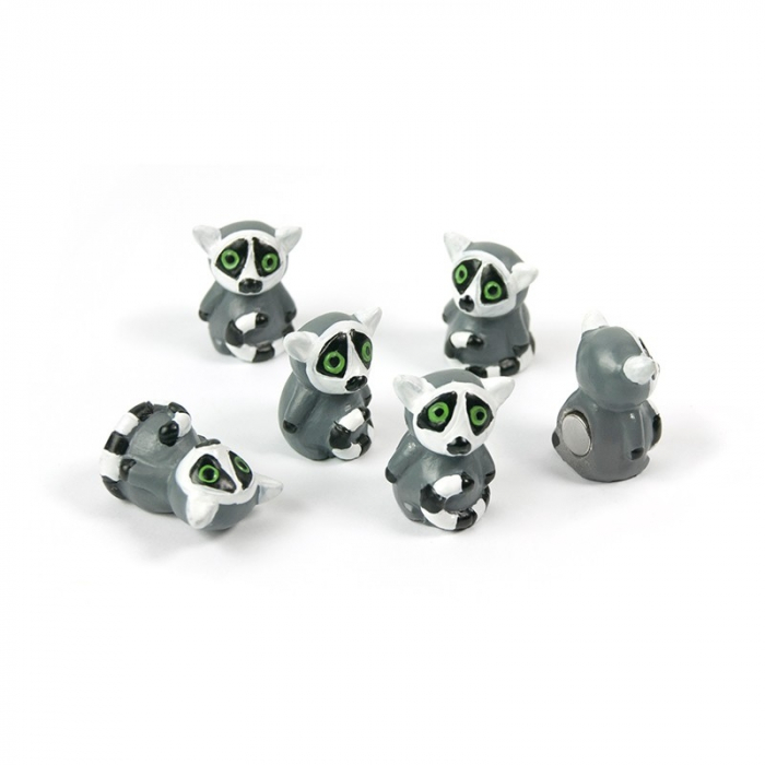 Magnet - LEMUR (6 buc/set)